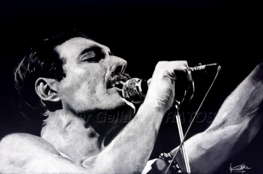 Freddie Mercury par JumpingJack
